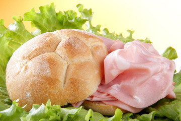panino con la bologna