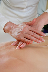 Rücken Massage