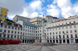 Square of the Lisbon city hall