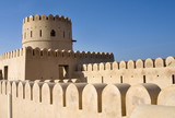 Fort of Sur, Oman. Middle East poster