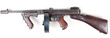 Leinwanddruck Bild - old mashine gun