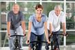 Senioren-Kurs im Fitnesscenter