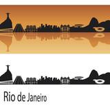Fototapety Rio de Janeiro skyline