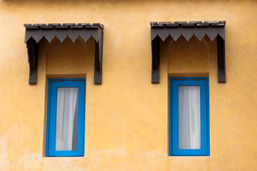 Moroccan style windows