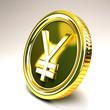 Yen Gold Coin