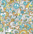 Notebook Doodles Seamless Repeat Pattern