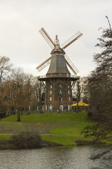 Dutch wind mill in Bremen, Germany