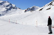 Fototapete Skiläufer - Sport - Hochgebirge