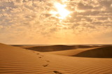 Fototapety Sand Dunes in Desert on island Grand Canaria - Spain, Europe