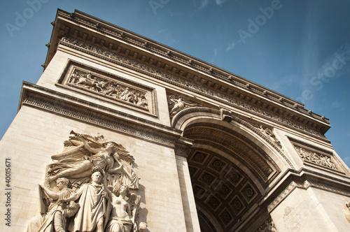Poster arc de triomphe  à Paris