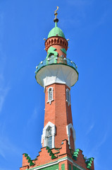 minaret of mosque