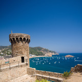 fortress tower in Tossa de Mar