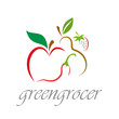 Logo Greengrocer # Vector