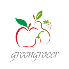 Logo Greengrocer # Vector