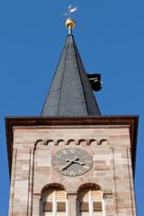 Spitze eines Kirchturms