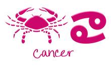 Znaki zodiaku Rak - Hot Pink