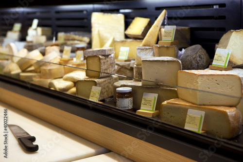 Fromage, fromager, crémier, crémerie, magasin, aliment