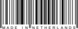 Barcode - Made in Netherlands