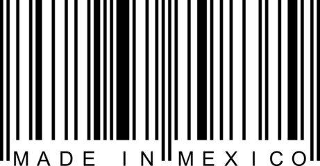 Barcode - Made in Mexico