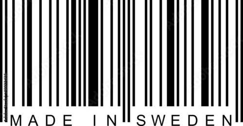 Barcode - Made in Sweden