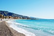 Coastline of village Menton - French Riviera - France