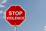 Stopping Violence poster
