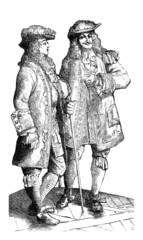 2 Aristocratic Men - end17th