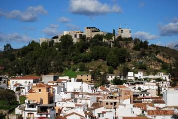 Town and Castle, Monda, Andalusia, Spain © Arena Photo UK