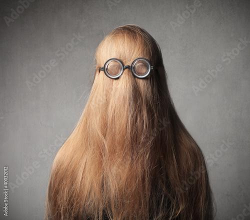Fun hairstyle