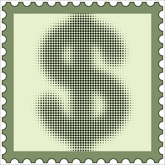 US Dollar stamp