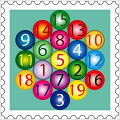 Magic Hexagon Stamp