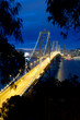 Bay Bridge after sunset