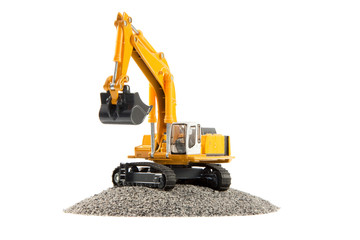 toy heavy excavator