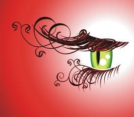 Абстрактный глаз 2