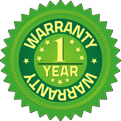 Warranty Quality Guarantee Badges