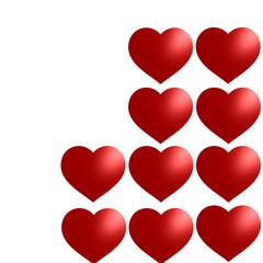 Zehn rote Herzen @ miket