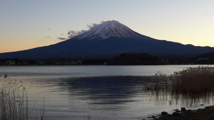 Mount Fuji in the day, Japan (mix)