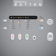 Electrical Appliances Icons Set. Washing machine