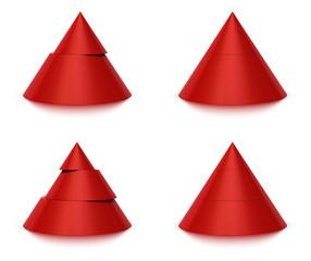 diagramme pyramidal 2 et 3 niveaux