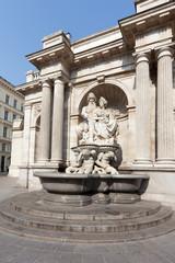 Brunnen vor Albertina, Wien