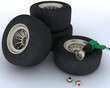 race car tyres for pit stop