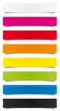 Fototapety Étiquettes multicolores