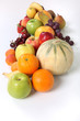 miscellaneous fruits isolated