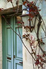 Immobilier, maison, charme, villa, rétro, ancien, porte