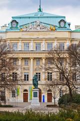 Vienna Technical Universit Main Entrance Karlsplatz, Vienna, Aus