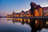 Fototapety Old Town in Gdansk, Poland.