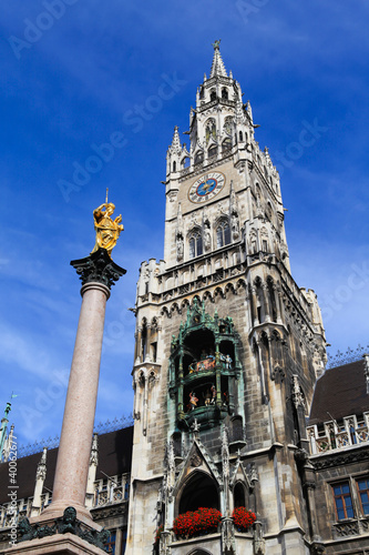 Munich Germany, Marienplatz