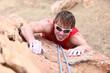 Climbing - male climber