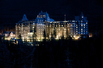 The Fairmont Banff Springs Hotel in Alberta, Canada