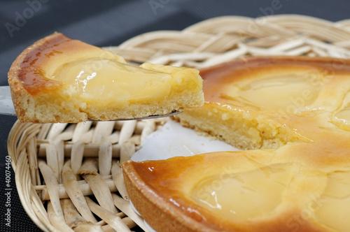 tarte aux poires 4